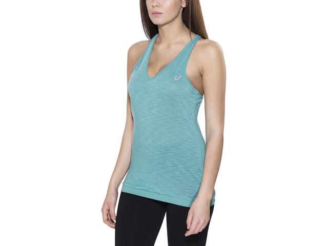asics fuzeX Koszulka do biegania bez rękawów Kobiety niebieski